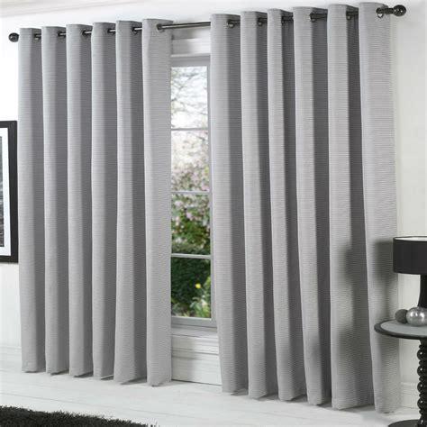 Curtain: grey curtain panels for minimalist decoration