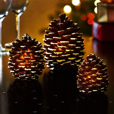 light up pine cone lights