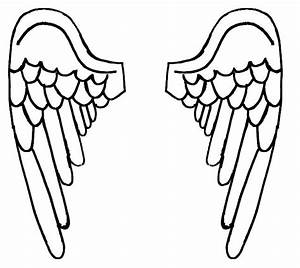 Angel Wings Coloring Pages - ClipArt Best