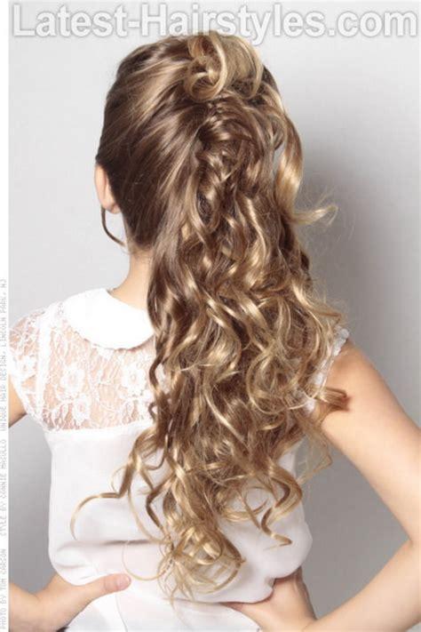 wedding hair styles  kids