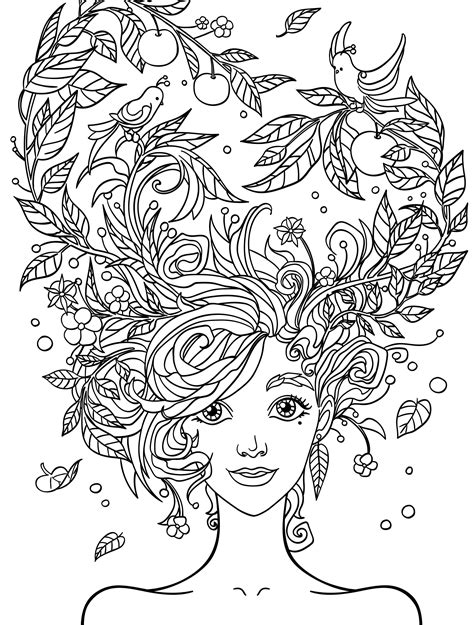 pretty coloring pages for adults free printable coloring pages mermaid coloring pages