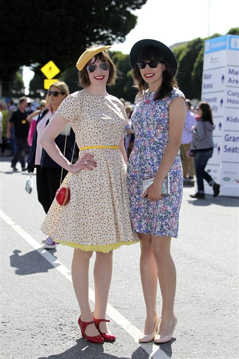 Ladies Day outfits at the Dublin Horse Show