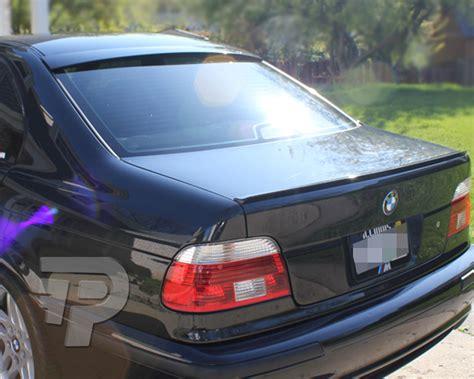 Bmw E39 4d Sedan A Type Rear Wing Roof Spoiler 97+