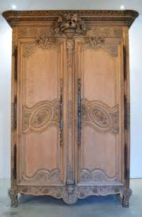 Armoires Anciennes Occasion by Antique French Wardrobe Bleached Oak Antiques Atlas
