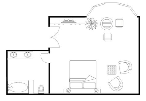 Small Master Bedroom Floor Plans by Master Bedroom Floor Plan Exle Smartdraw Bedroom