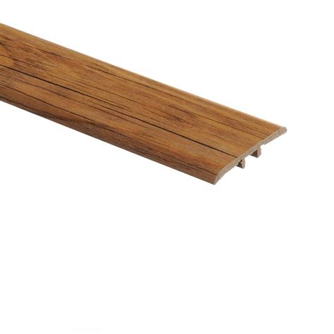 vinyl flooring molding zamma country pine 5 16 in thick x 1 3 4 in wide x 72 in length vinyl t molding 015223539