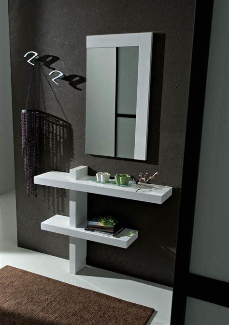 mobili per consolle dj mobili per ingresso moderni bianco lucido consolle