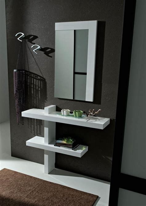 mobili ingressi moderni mobili per ingresso moderni bianco lucido consolle