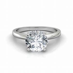 classic 4 prong solitaire engagement ring With classic wedding rings