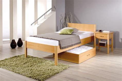 reichert komfortbett tessin mit niedrigem fussteil