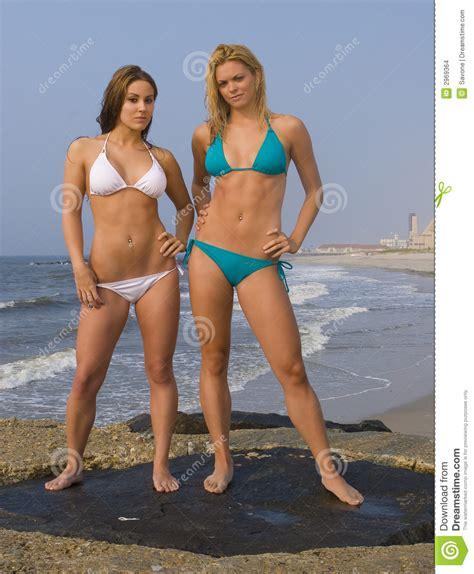 Bikini Beach Stock Images - Image: 2969364