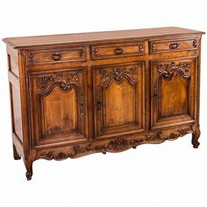 Buffet Enfilade Vintage : antique french hand carved solid cherry tall buffet or enfilade at 1stdibs ~ Teatrodelosmanantiales.com Idées de Décoration
