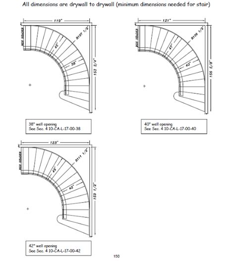Harmonious Curved Staircase Plans by What Space Is Required For A Curved Stair Designed Stairs