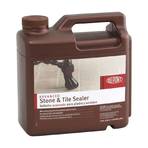 dupont tile sealer finish shop dupont 1 gallon advanced tile sealer at lowes
