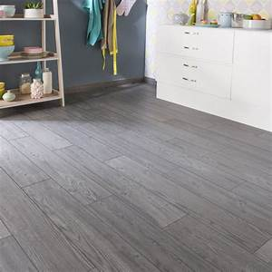 carrelage sol et mur gris fonce effet bois islande l15 x With carrelage exterieur a clipser