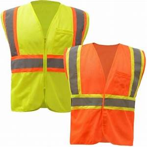 HIGH VISIBILITY TWO TONE SAFETY VEST