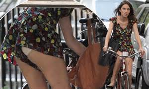 Alexa Chung Flashes Her Knickers In A Very Short Playsuit