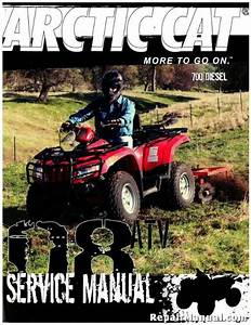 2008 Arctic Cat 700 Diesel Atv Service Manual
