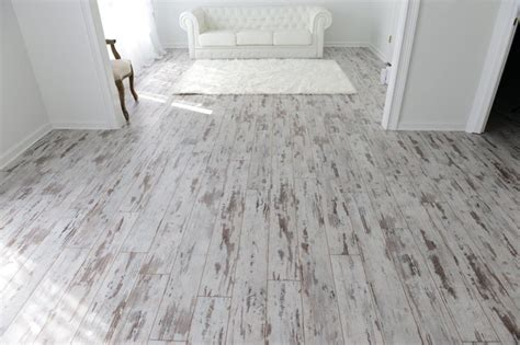 whitewash vinyl flooring inhaus loft whitewashed oak transitional living 1072