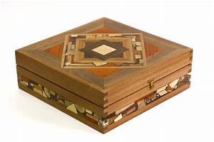 Mosaic Tea Box-Tea Bag Selection Box-Decorative Wooden Tea