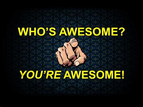 Download Text Awesomeness Wallpaper 1024x768 Wallpoper