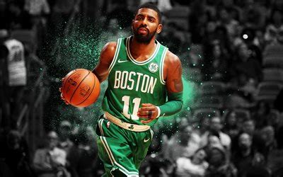 wallpapers nba kyrie irving art basketball
