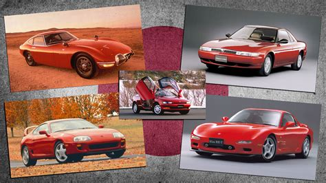 We Pick Some Of The Best Looking Japanese Cars Ever