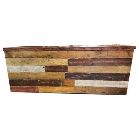 Reclaimed Wood Bar   MTB Event Rentals