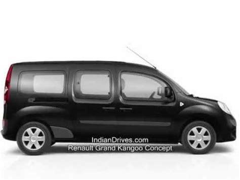 renault minivan renault grand kangoo new seven seat minivan youtube