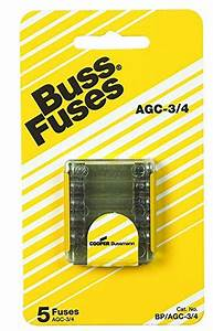 Bussmann Bp  Agc3  4 Fast Acting Fuse Review