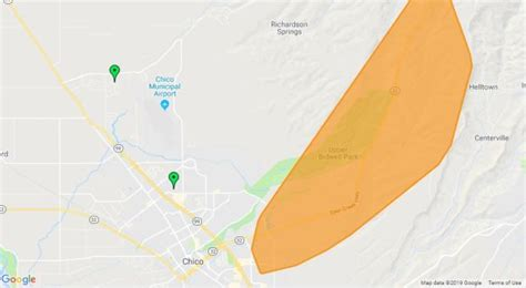 update power outage hits east chico paradise post