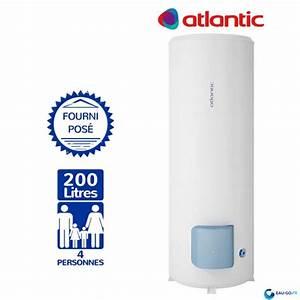 Chauffe Eau Atlantic 200l Leroy Merlin : chauffe eau 200l sur socle chauffe eau 200l vertical sur ~ Nature-et-papiers.com Idées de Décoration