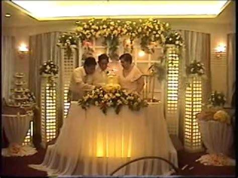 wedding reception program wedding traditions  golden