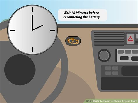 how to reset check engine light how to reset a check engine light 6 steps with pictures