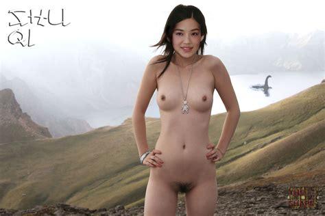 Qi Shu  nackt