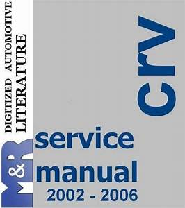 1997 Honda Crv Parts Manual