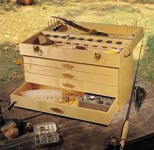 Fly Tying Box ShopWoodworking