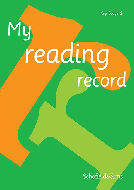 My Reading Record Key Stage 2 Reading Records At Schofield And Sims