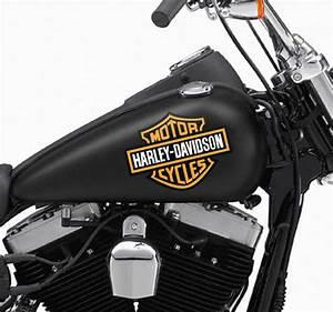 Harley Davidson Wanduhr : aufkleber logo harley davidson tenstickers ~ Whattoseeinmadrid.com Haus und Dekorationen