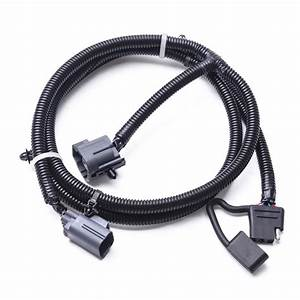 65 U0026quot  Tow Trailer Hitch Wiring Harness Kit With 4 Way Flat