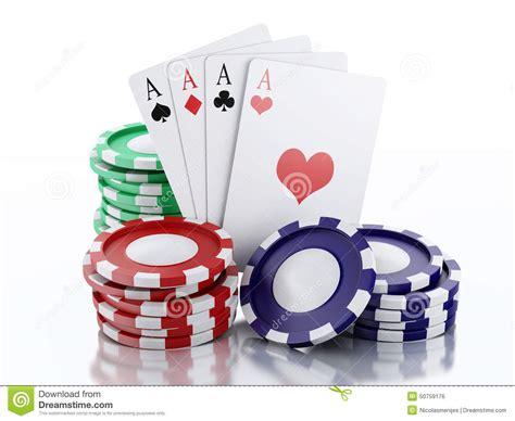 Carte Casino by Marques Du Casino 3d Et Cartes De Jouer Fond Blanc D