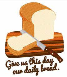 Our daily bread embroidery designs machine embroidery for Daily bread embroidery