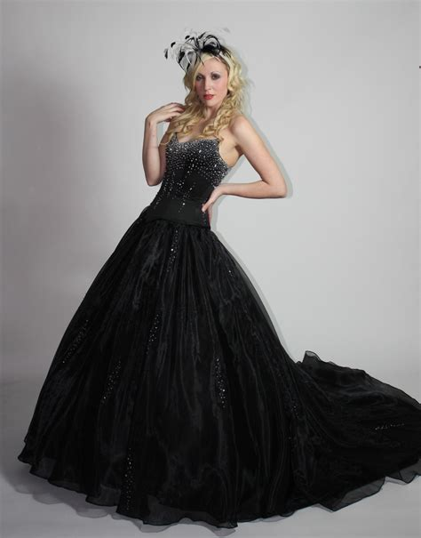 2015 wedding dress trends black fashion