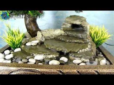 bonsai  zimmerbrunnen mit pflanzen youtube