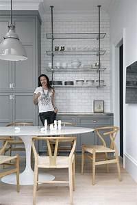 Cuisine Style Industriel Vintage : id e d coration cuisine avec rangements ouverts ~ Teatrodelosmanantiales.com Idées de Décoration