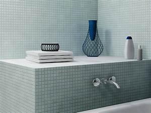 carrelage mosaique dans la salle de bains idees et With pose carrelage mosaique salle de bain