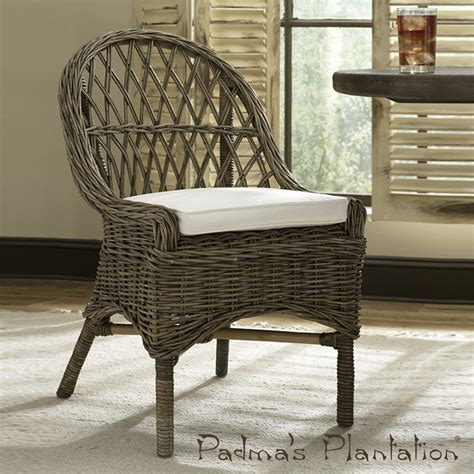 kubu dining chair set of 2 padma s plantation modernoutlet