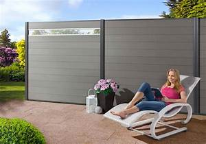 wpc steckzaun turino design inlay aus aluminium mr With katzennetz balkon mit mr gardener moglia
