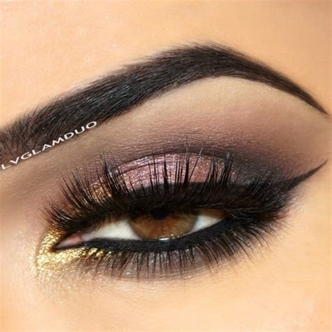 pink  gold eyeshadow   lvglamduo shadow