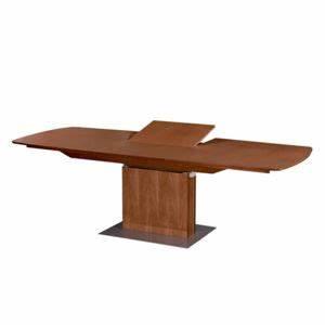 Table Pied Central Extensible : table extensible pied central bois blanc achat vente ~ Teatrodelosmanantiales.com Idées de Décoration